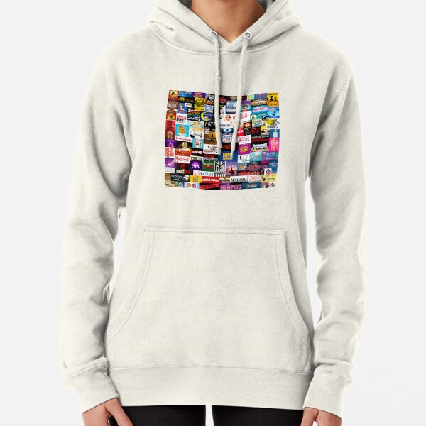 Broadway Show Logo Collage Sudadera con capucha