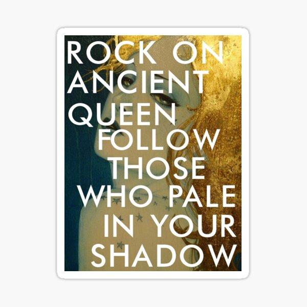 gold dust woman (ji) Sticker