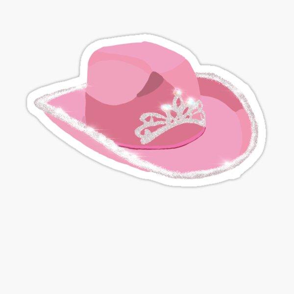 Pink Cowgirl Hat Sticker