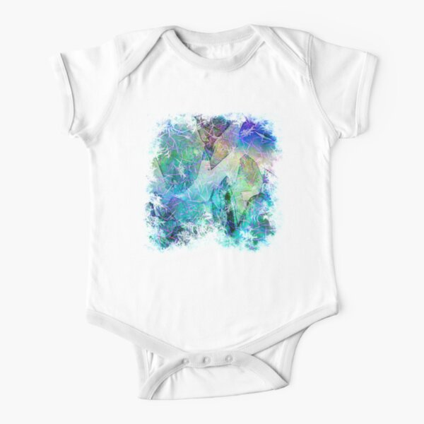 Crystal Frost 2 Short Sleeve Baby One-Piece