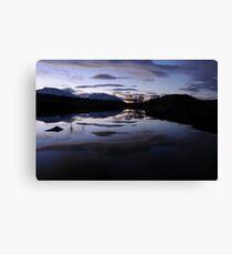 Sunrise Rannoch Moor  Canvas Print