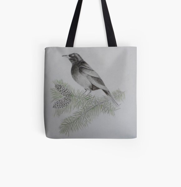 On the 4th Day of Christmas  All Over Print Tote Bag