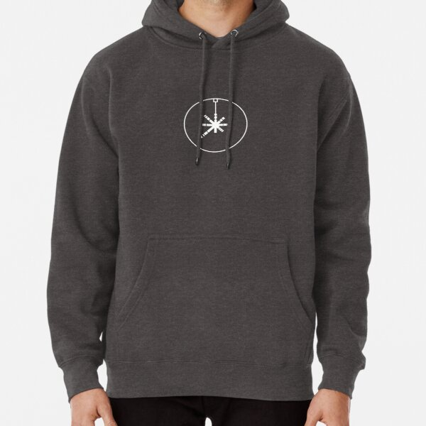 Thermal Exhaust Port (White) Pullover Hoodie