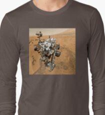 Selbstporträt der NASA Neugier Langarmshirt