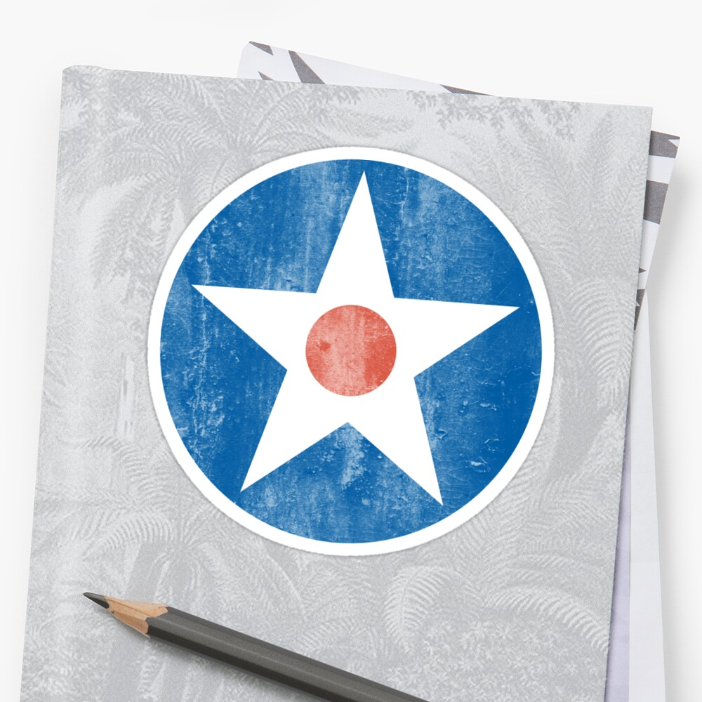 US Army Air Corps Star by Tasty Clothing
