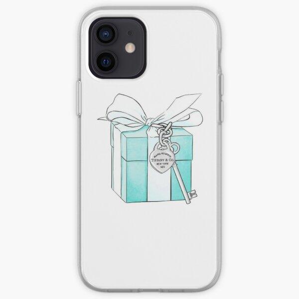 Tiffany Box and Key iPhone Soft Case
