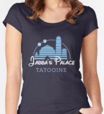Jabba's Palace Women's Fitted Scoop T-Shirt