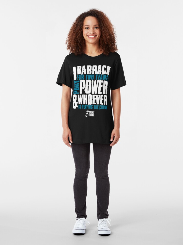 Alternate view of Two Teams: Power Slim Fit T-Shirt