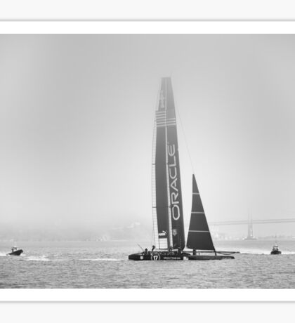 Oracle Team USA - Approaching Sticker