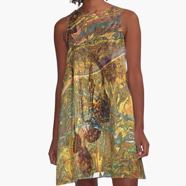 The Atlas Of Dreams - Color Plate 79 A-Line Dress