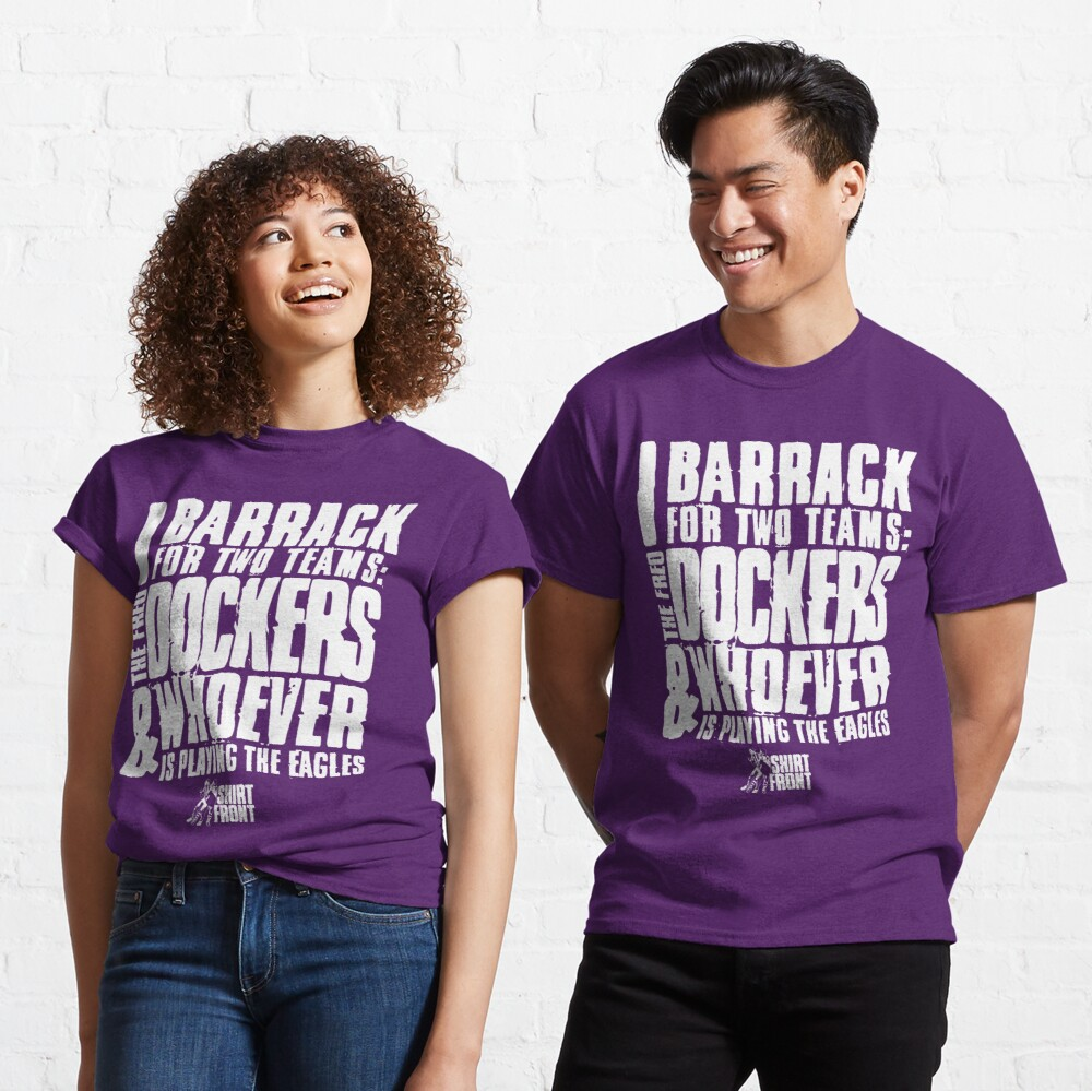 Two Teams: Dockers Classic T-Shirt