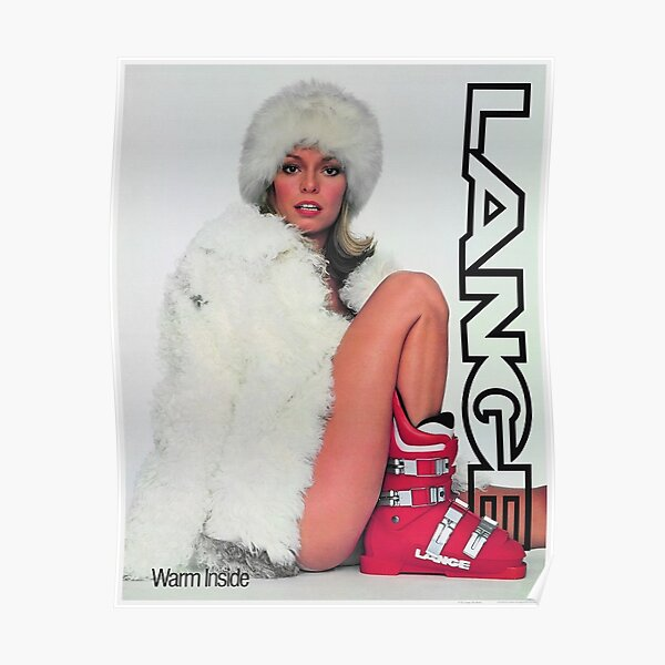 Lange Ski Girl - Warm Inside Poster