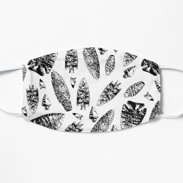 Lithic black and white Mask