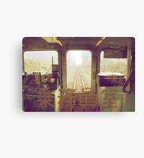 last train to paradise Canvas Print