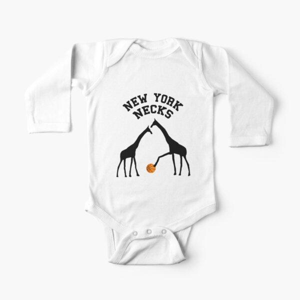 New York Necks Long Sleeve Baby One-Piece