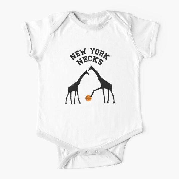 New York Necks Short Sleeve Baby One-Piece