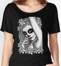 DAY OF DEAD GIRL Women's Relaxed Fit T-Shirt