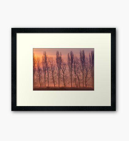 Beyond the Dawn Framed Print