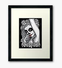 DAY OF DEAD GIRL Framed Print