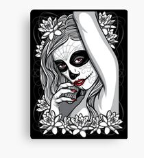 DAY OF DEAD GIRL Canvas Print