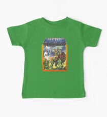 He-Man Masters of the Universe Battlecat and Teela Baby T-Shirt