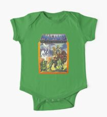 He-Man Masters of the Universe Battlecat and Teela One Piece - Short Sleeve