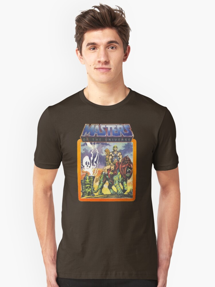 He-Man Masters of the Universe Battlecat and Teela Unisex T-Shirt Front