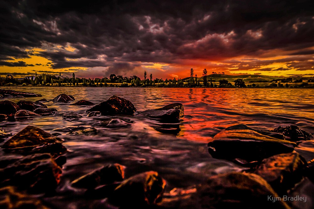 Whats Brewing ??? Canberra Australia  Sunset by Kym Bradley