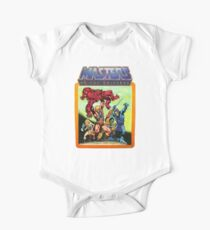 He-Man Masters of the Universe Battle Scene One Piece - Short Sleeve