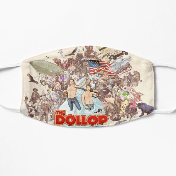The Dollop 2018  Flat Mask
