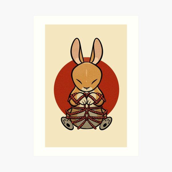 Rope Bunny Art Print