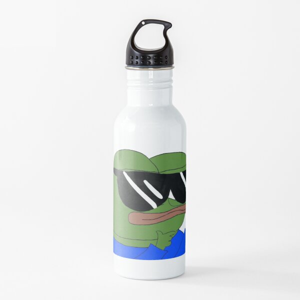 Cool Sunglasses Pepe Water Bottle