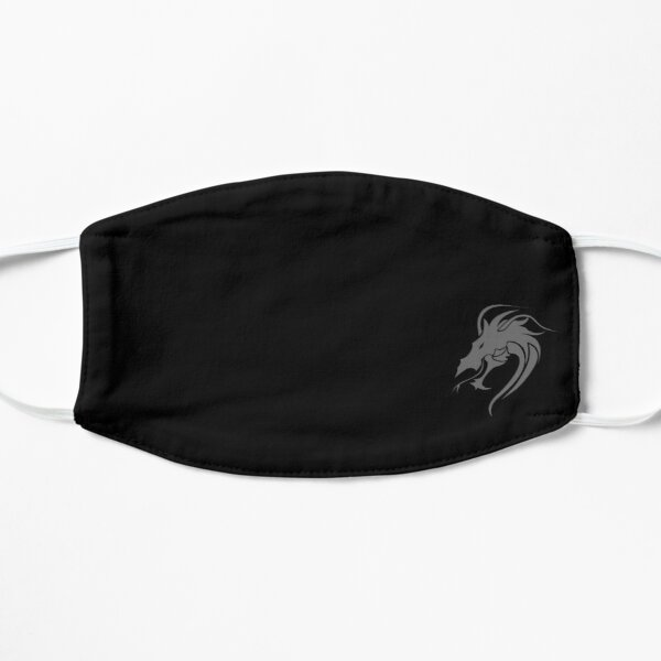 Dragon face mask, Reusable and washable face mask Flat Mask