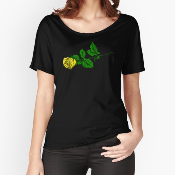 Yellow Rose Relaxed Fit T-Shirt