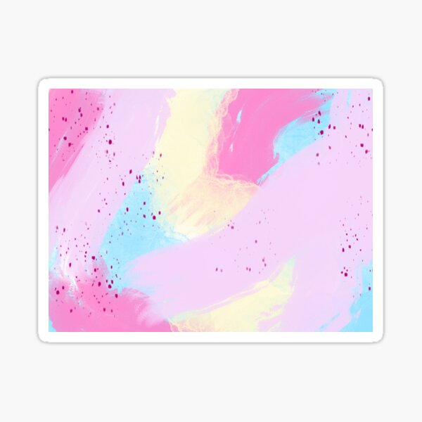 Watercolor Abstract  Sticker