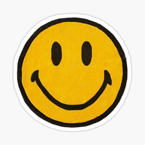 etiqueta engomada de la cara sonriente normal Pegatina