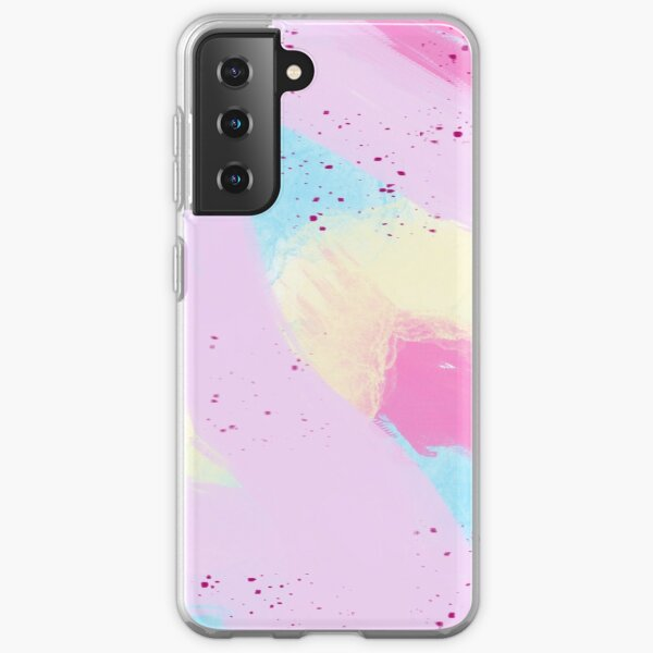 Watercolor Abstract Samsung Galaxy Soft Case