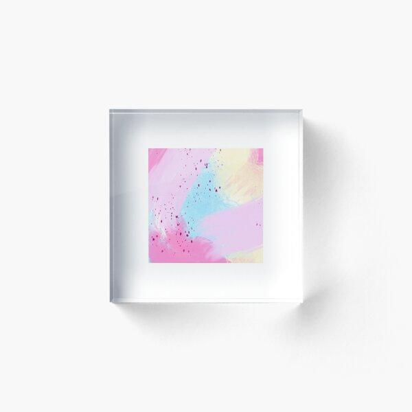 Watercolor Abstract Acrylic Block