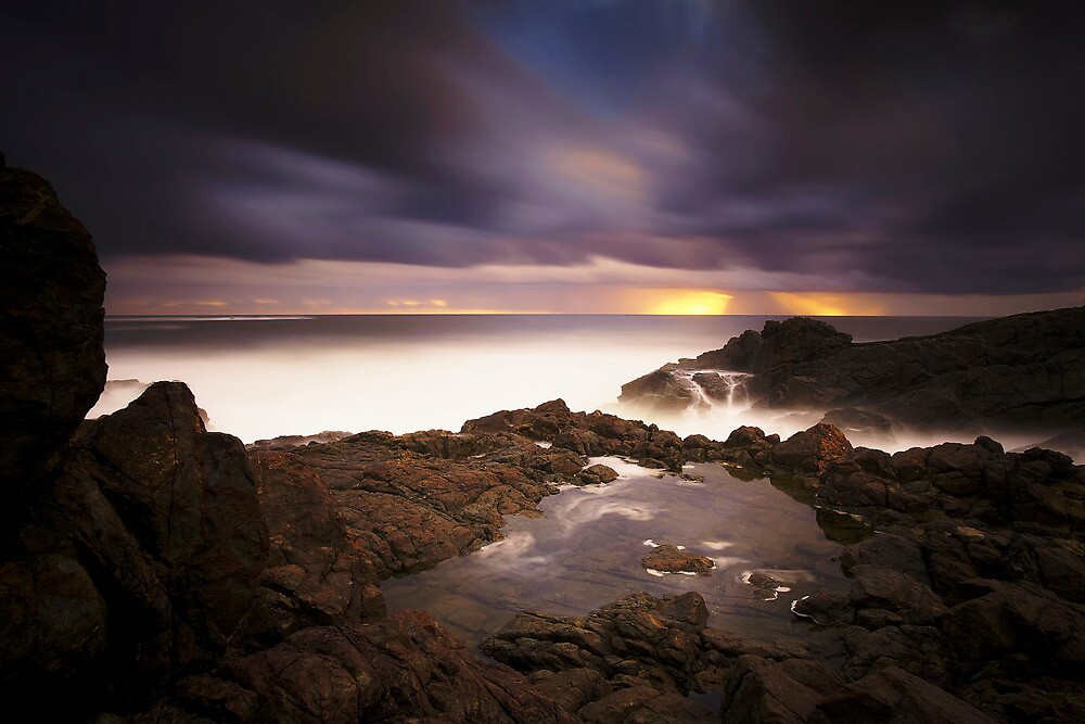 Hastings Point Sunrise by Maxwell Campbell
