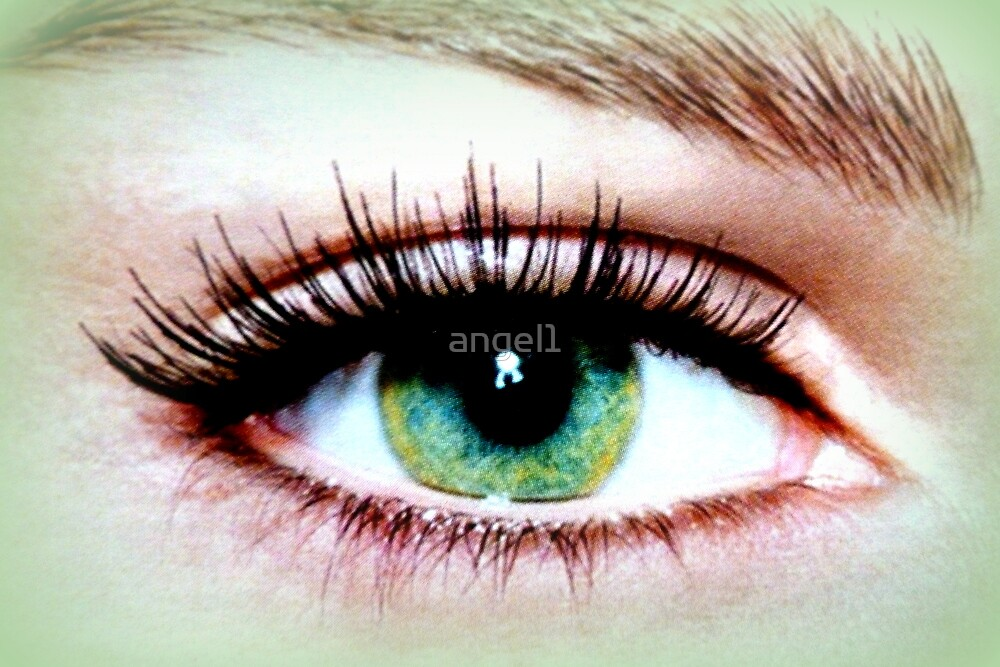 Green eye by ©The Creative  Minds