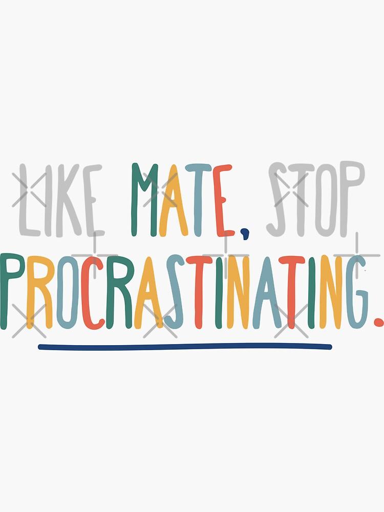 3RACHA Like Mate, Stop Procrastinating by SKZLyrics