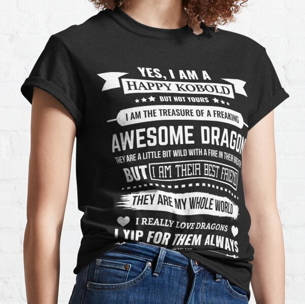 YES I AM A KOBOLD! Classic T-Shirt
