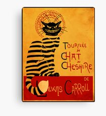 Chat du chesire Canvas Print