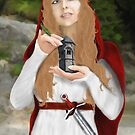 Saint Barbara by Rowan  Lewgalon