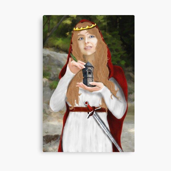 Saint Barbara Canvas Print