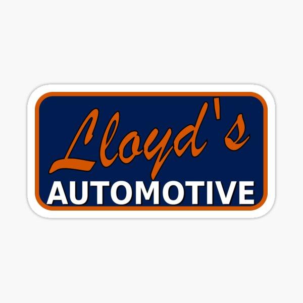 Lloyd's automotive Sticker