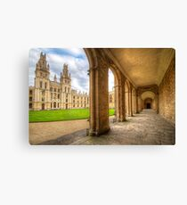Oxford University - All Souls College 2.0 Canvas Print
