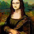 Mona Lisa by Sari  Puhakka