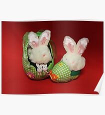 Easter Bunnies Poster
