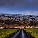 Eyjafjallajökull Volcano  Iceland by Chris Thaxter